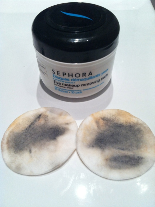 Sephora Eye Makeup Removing Pads