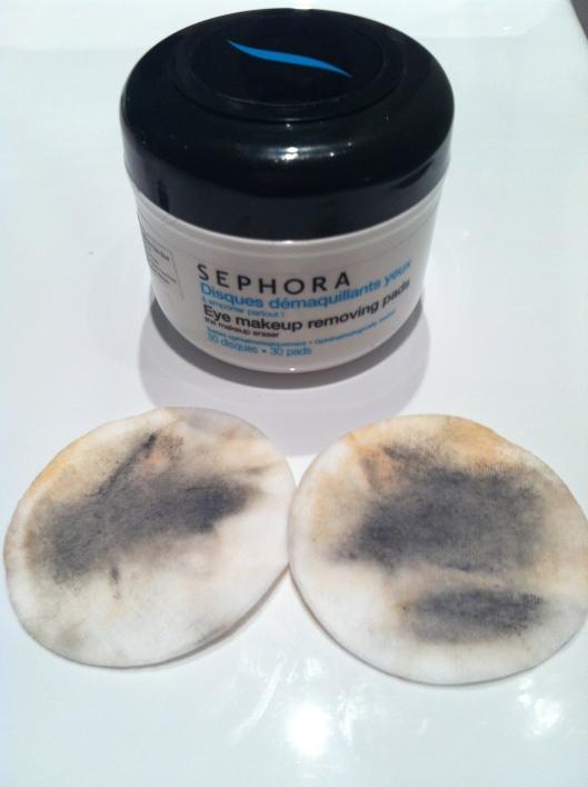 Sephora Eye Makeup Removing Pads